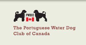 The Portuguese Water Dog Club of Canada Logo
