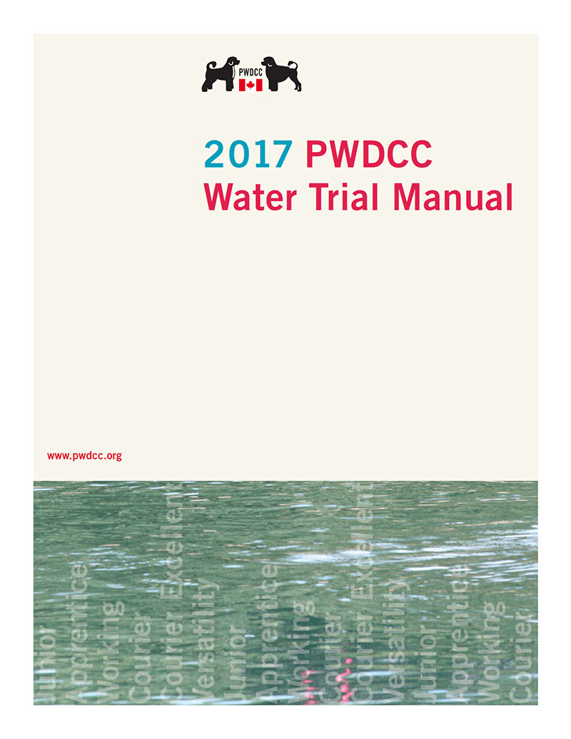 2017 PWDCC Water Trial Manual