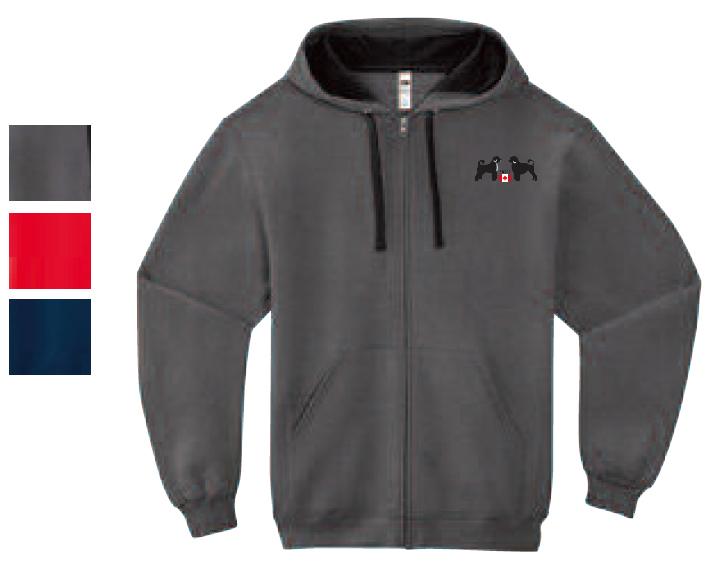 Unisex Sofspun Full Zip Hooded Sweatshirt
