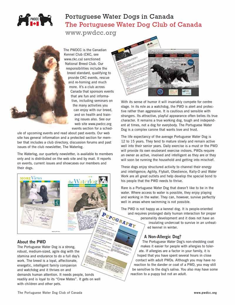 PWDCC Handout Brochure
